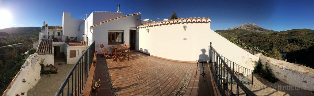 Klik her for at se flere billeder fra vores hus i El Burgo.